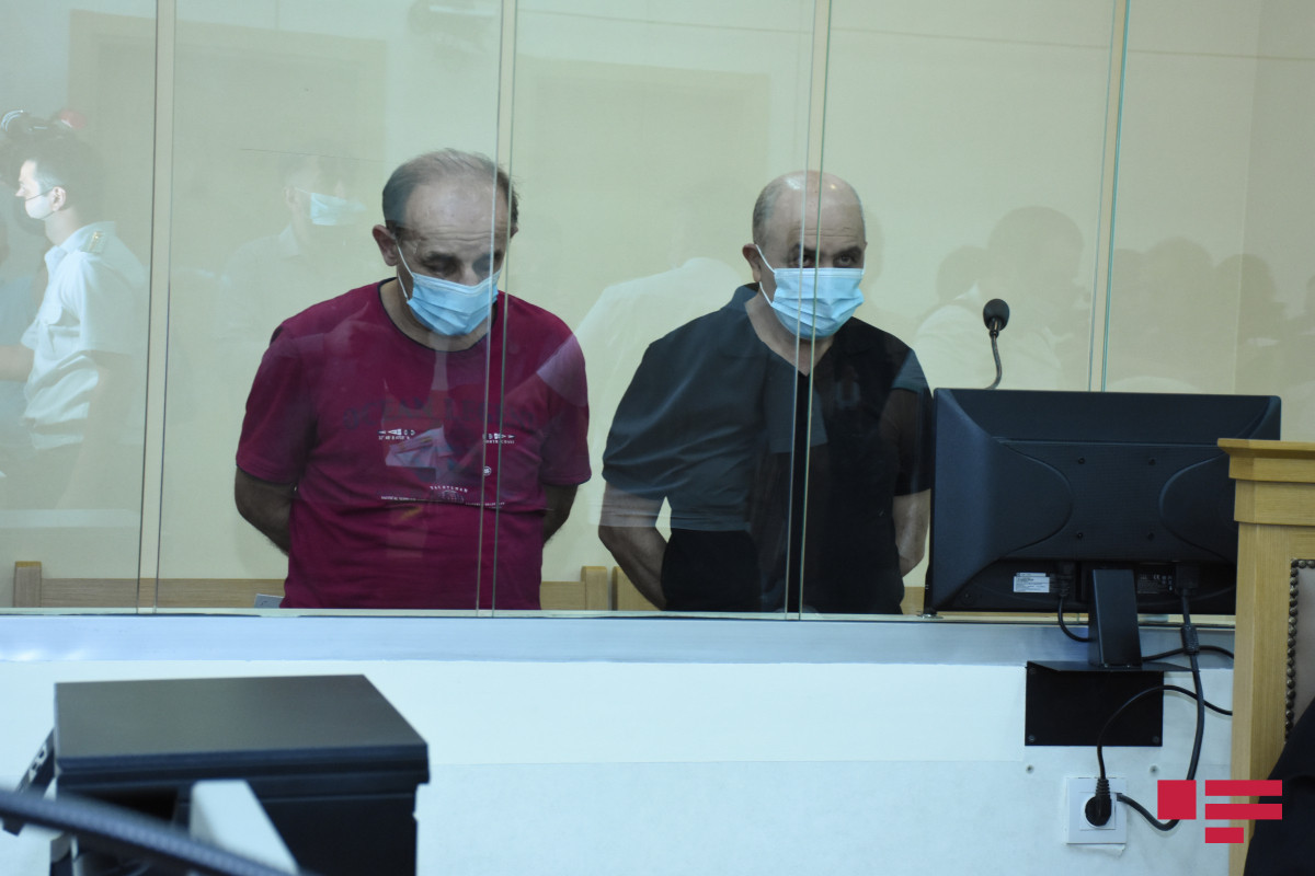 Armenian militants who tortured Azerbaijanis during First Karabakh War during the trial apologized from Azerbaijani people