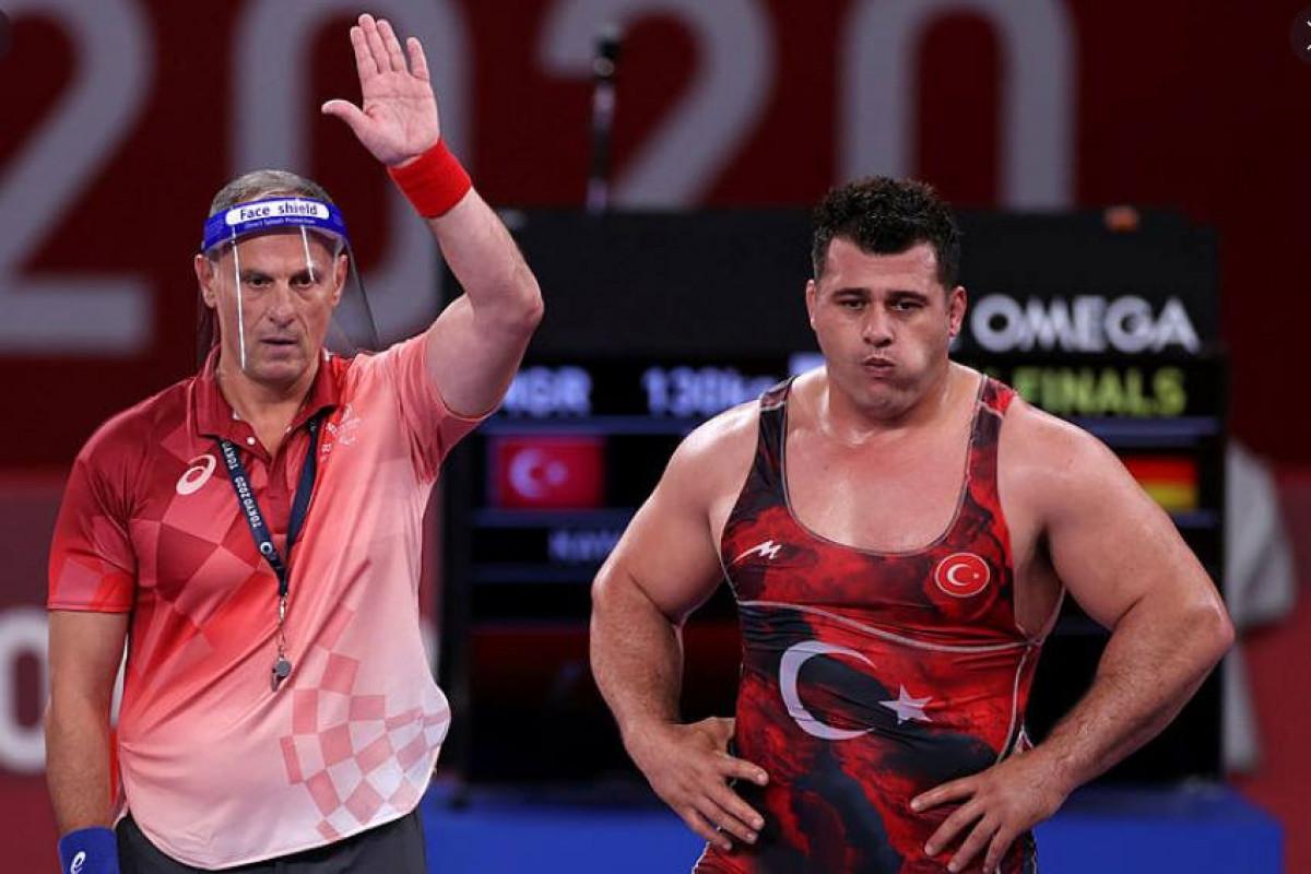 """<span class=""""red_color"""">Токио-2020: Рыза Каяалп завоевал бронзовую медаль"""