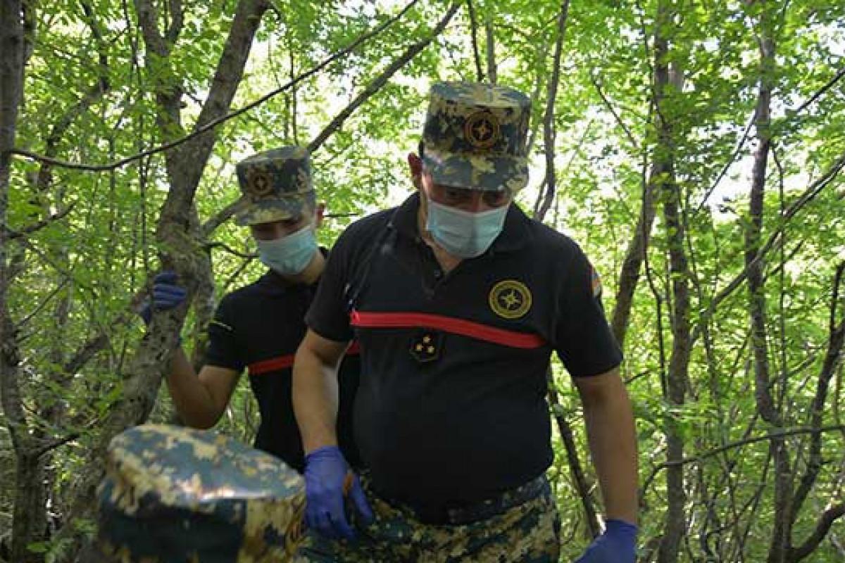 Remains of another 4 Armenian servicemen found in Fuzuli