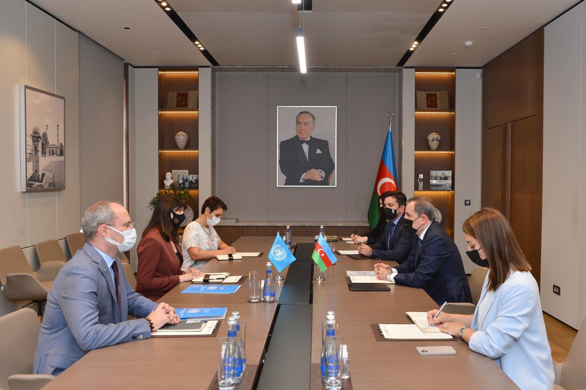 Azerbaijani FM received new Resident Coordinator United Nations in Azerbaijan