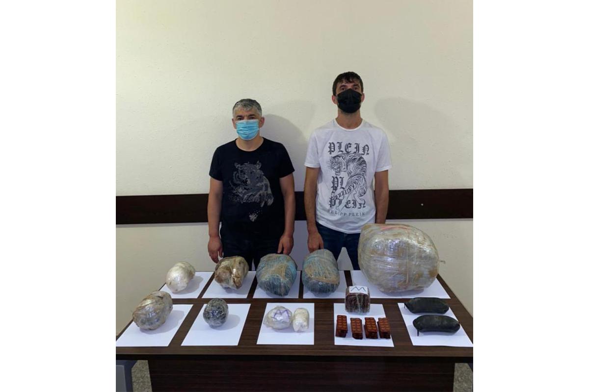 DSX: 14 kiloqramdan çox narkotikin sərhəddən keçirilməsinin qarşısı alınıb