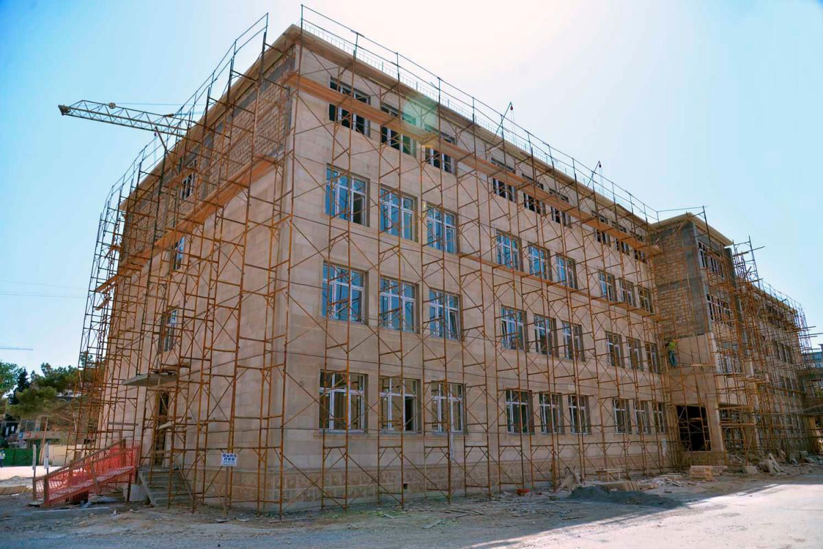 Bakıda 8 yeni məktəb binası tikilir