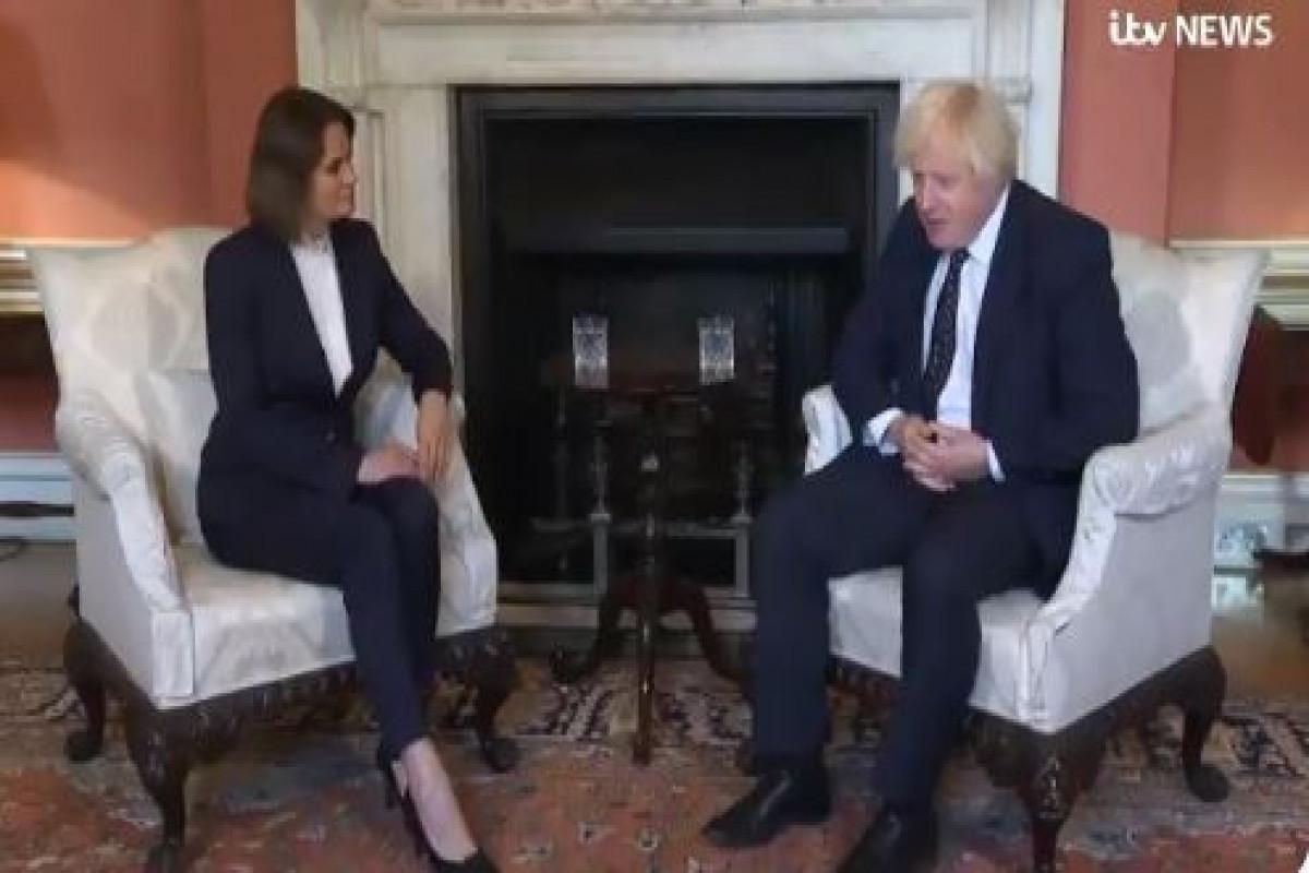 Борис Джонсон встретился с лидером белорусской оппозиции