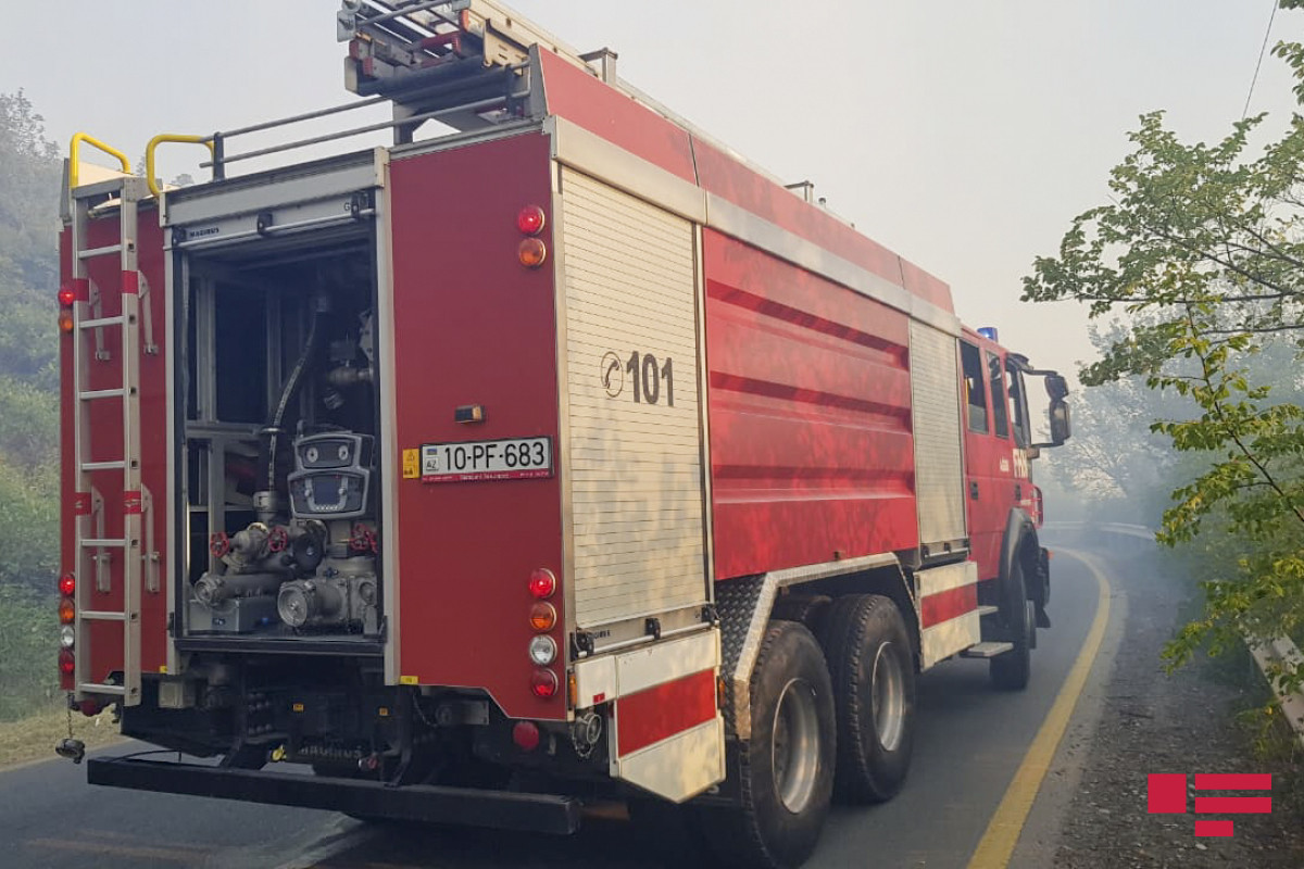 Fire broke out on border with Hirkan National Park in Azerbaijan