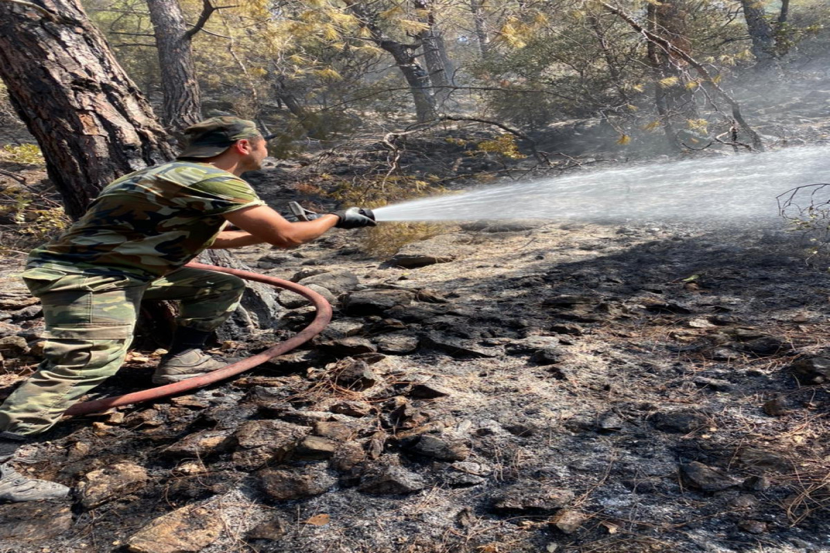 """Firefighters of the Ministry of Emergency Situations continue to fight fires in Turkey-<span class=""""red_color"""">PHOTO-<span class=""""red_color"""">VIDEO"""