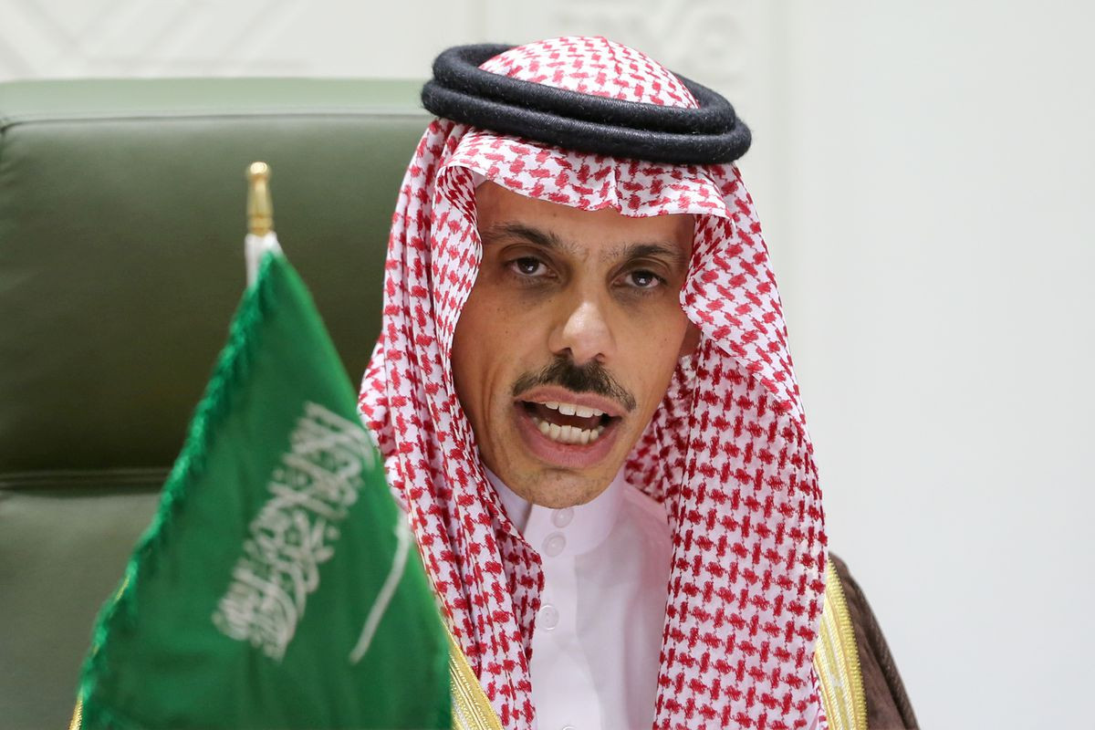 Saudi Arabia says sees an emboldened Iran around Middle East