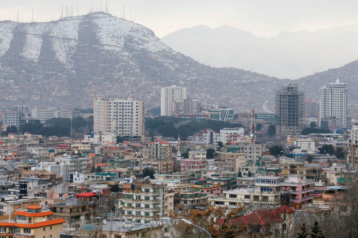 Car bomb hits near Kabul
