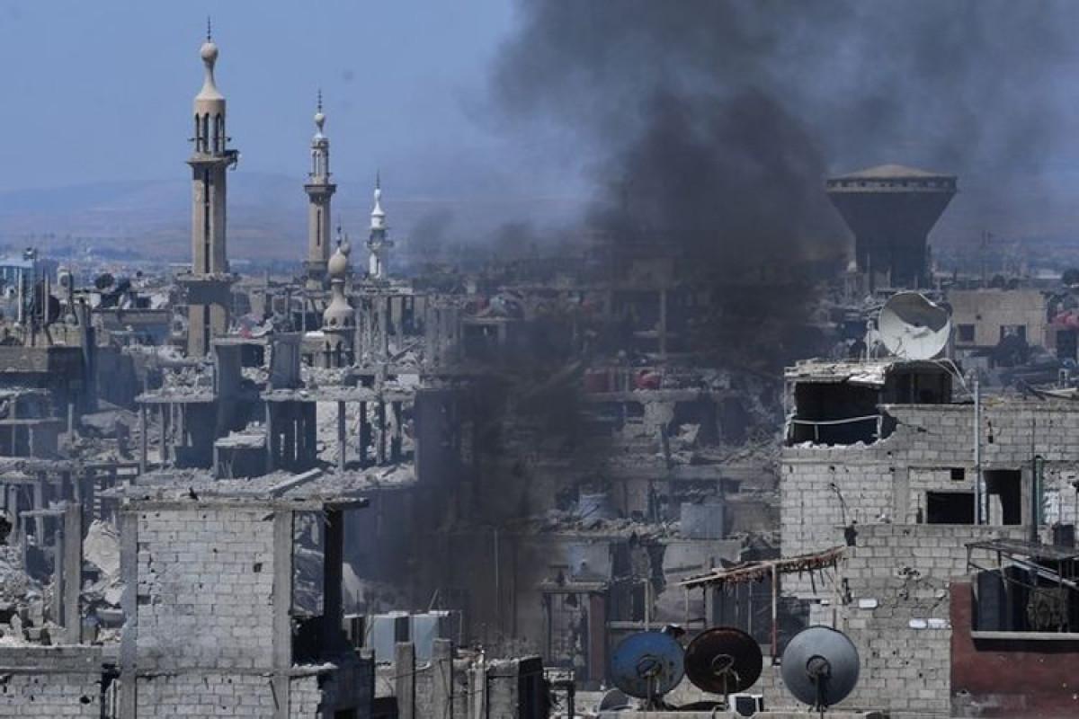 Автобус с военнослужащими подорвали в Дамаске