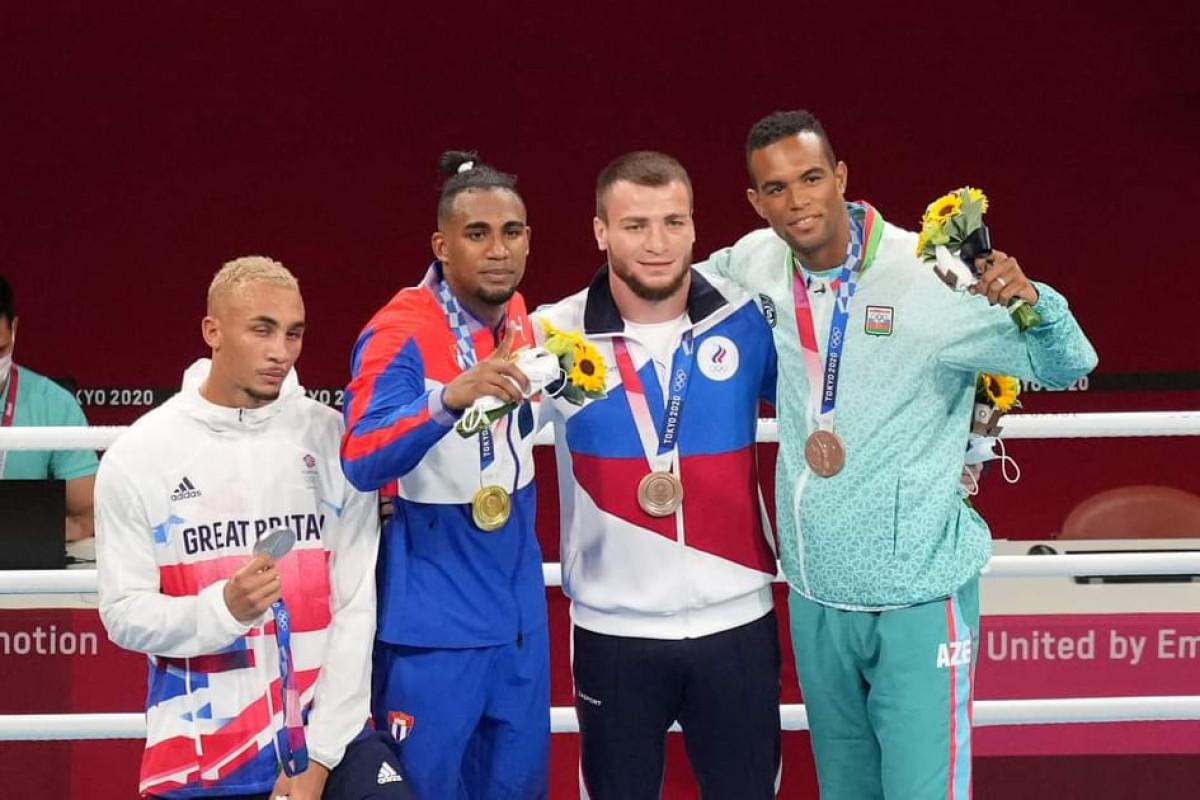 Tokio-2020: Azərbaycan boksçusu mükafatlandırılıb - FOTOLENT