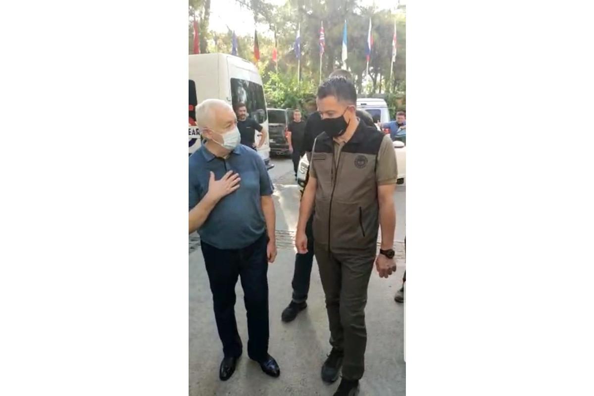 Замминистра по чрезвычайным ситуациям Этибар Мирзоев встретился с министром сельского и лесного хозяйства Турции