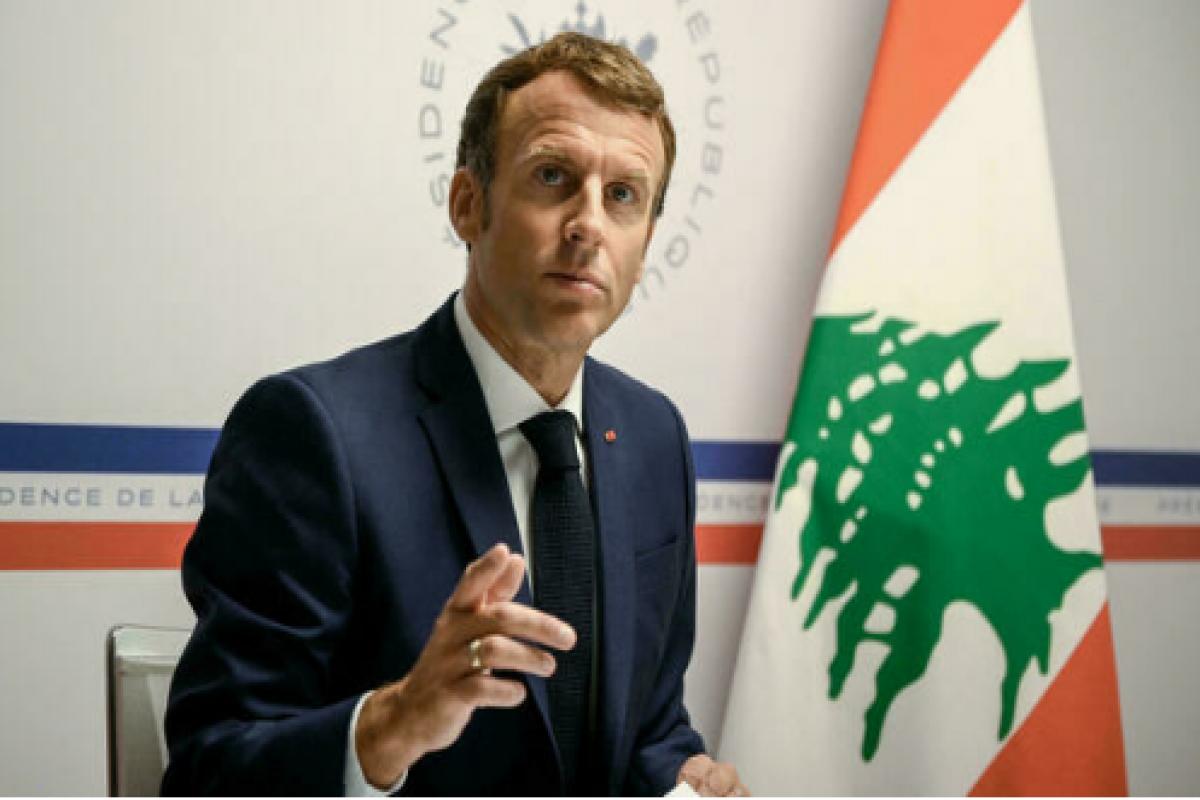 French President Macron pledges 100 million euros worth of emergency aid for Lebanon