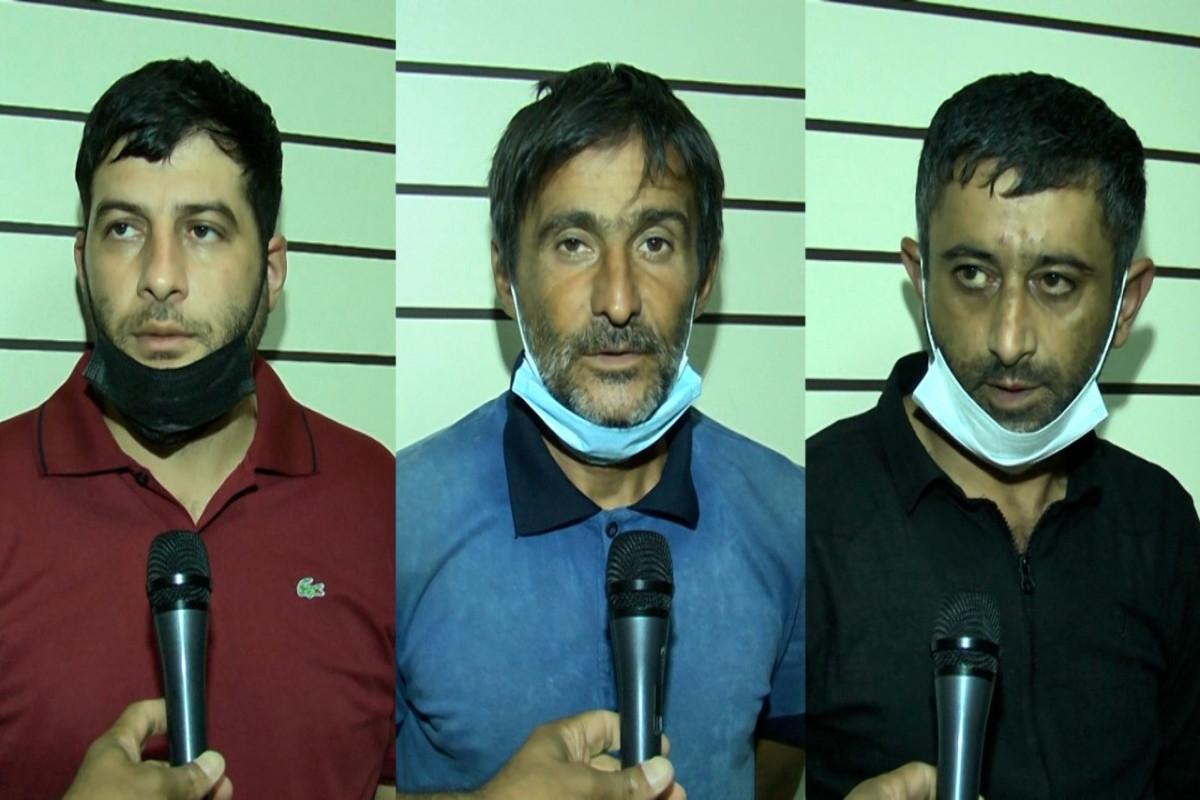 Sumqayıtda narkotik satan 3 nəfər tutulub - FOTO  - VİDEO