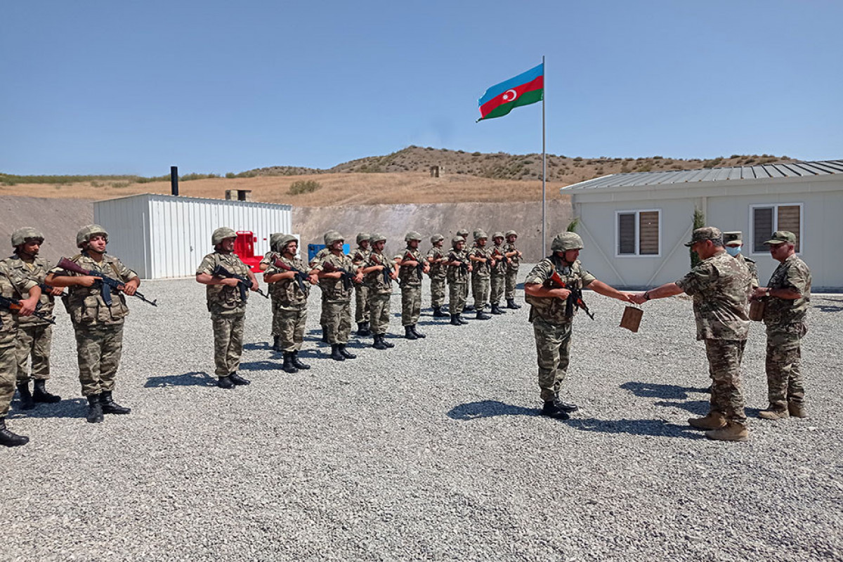 """Defense Minister visited several new military units stationed in the liberated territories-<span class=""""red_color"""">PHOTO-<span class=""""red_color"""">VIDEO"""