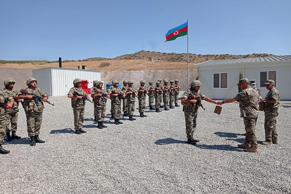 """Закир Гасанов побывал в нескольких новых воинских частях, дислоцированных на освобожденных территориях-<span class=""""red_color"""">ФОТО-<span class=""""red_color"""">ВИДЕО"""