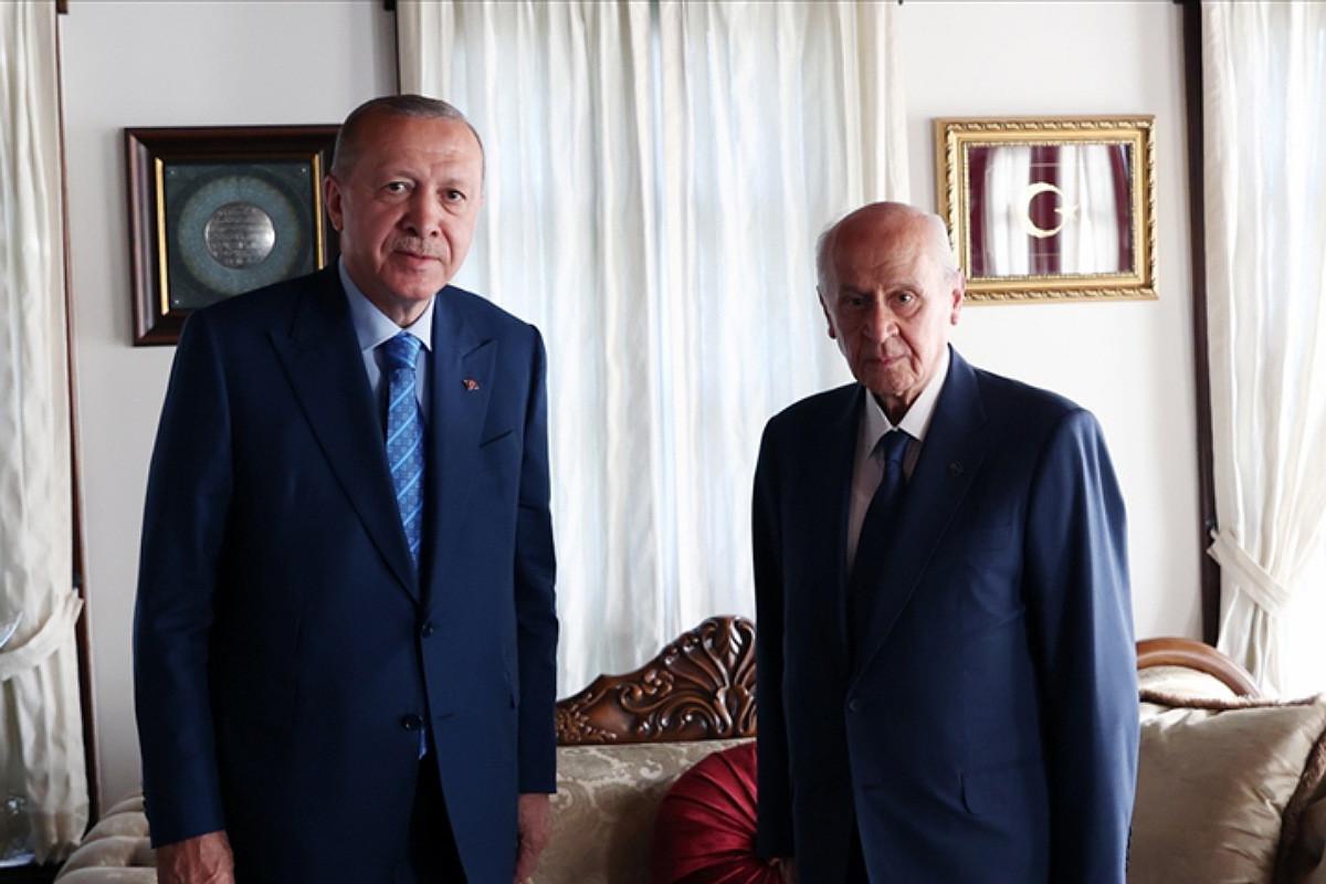 Эрдоган навестил Довлета Бахчалы