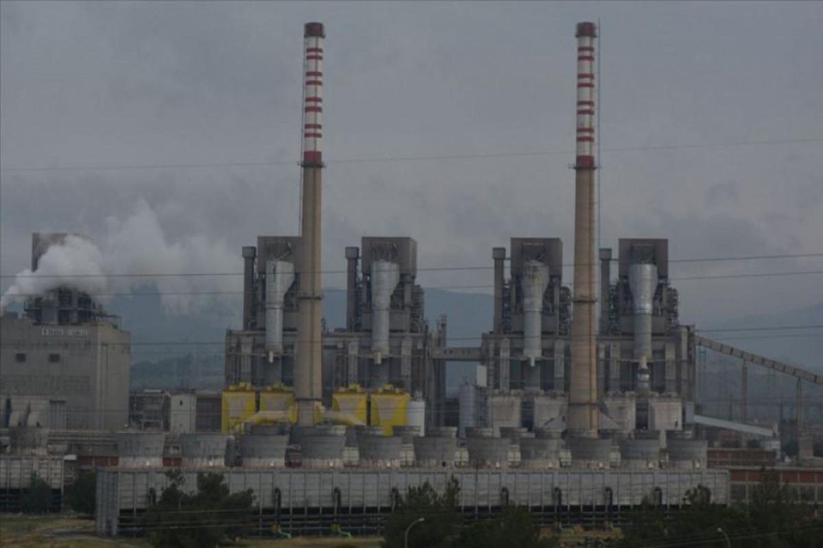 В Турции лесной пожар перекинулся на территорию тепловой электростанции