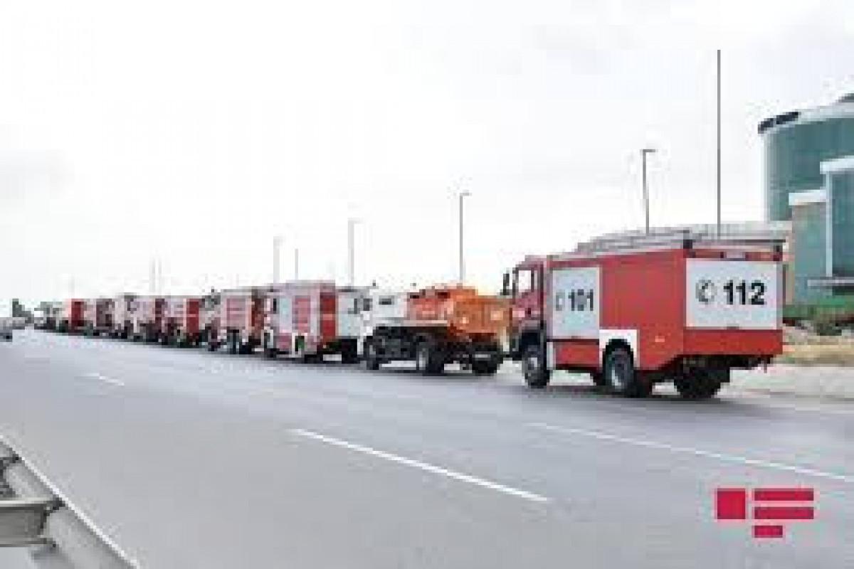 МЧС: Третья группа азербайджанских пожарных отправится в Турцию 5 августа