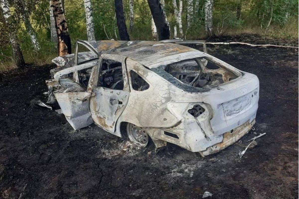 Rusiyada sürücü avtomobilində yanaraq dünyasını dəyişib