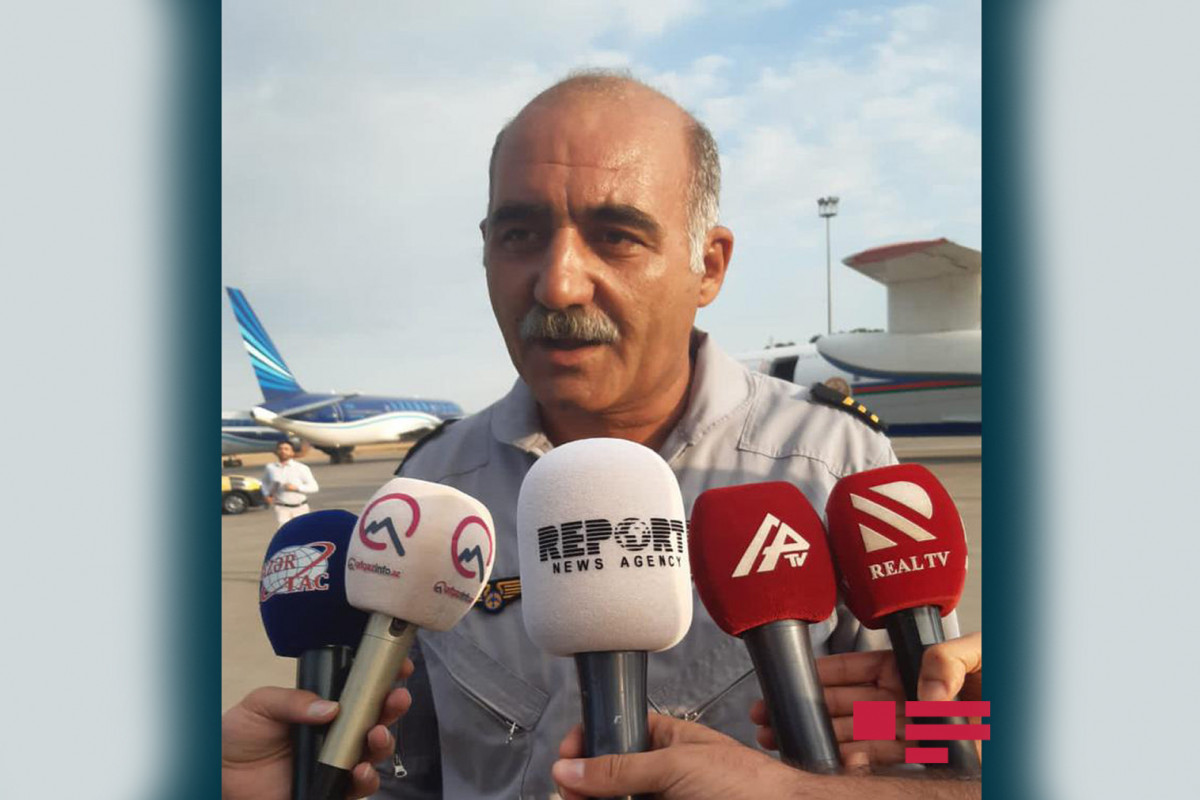 """""""We are ready for any situation in extinguishing the fire in Turkey"""" -  says Flight Engineer Instructor of Amphibious aircraft-<span class=""""red_color"""">PHOTO"""