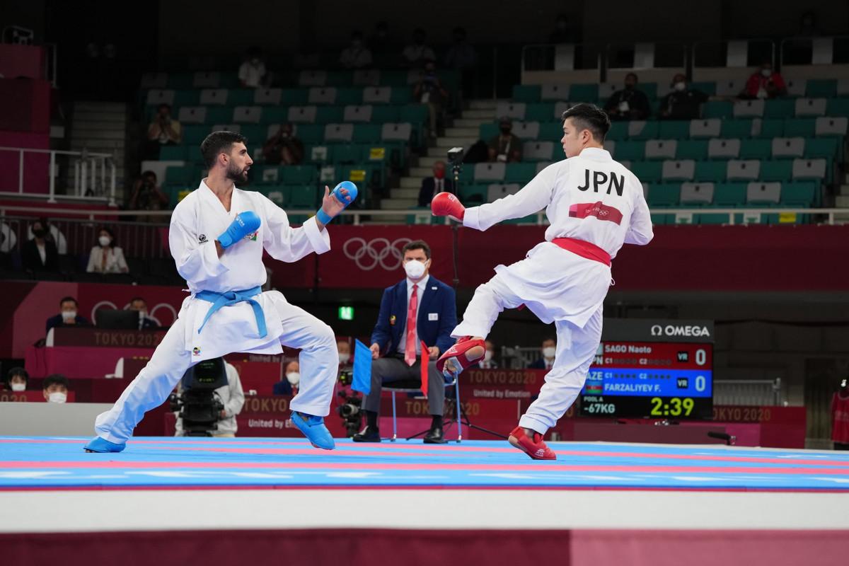 """<span class=""""red_color"""">Tokio-2020: Azərbaycan karateçisi qrupda qalıb"""