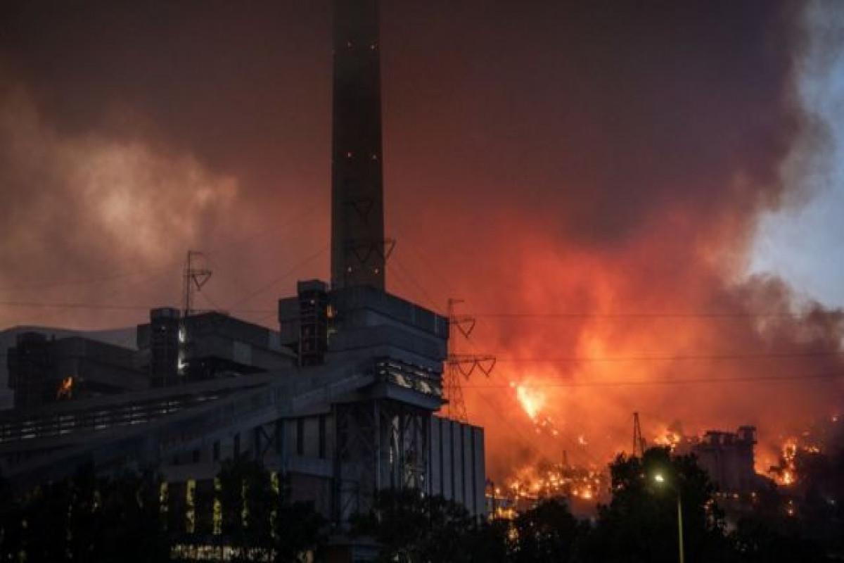 Türkiyənin Kemerköy İstilik Elektrik Stansiyasının ərazisindəki yanğın sönüb