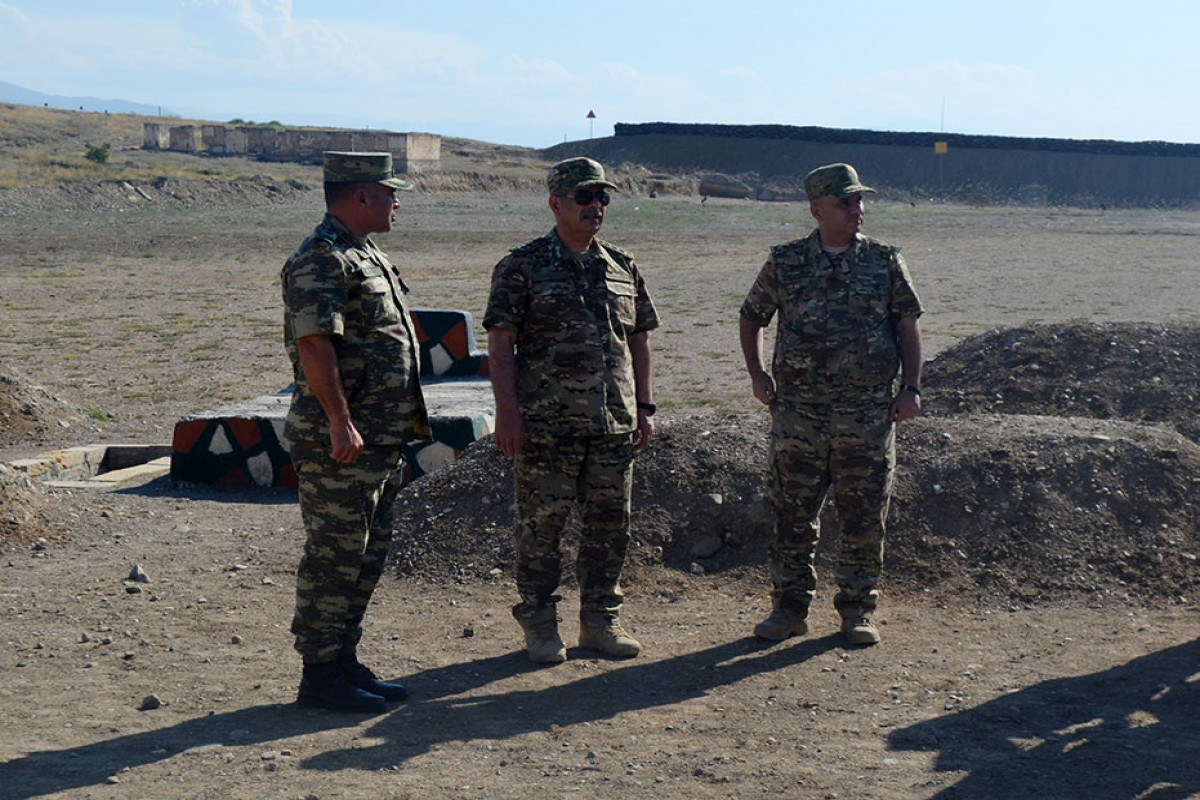 Several military facilities of the Land Forces Command have been commissioned-VIDEO