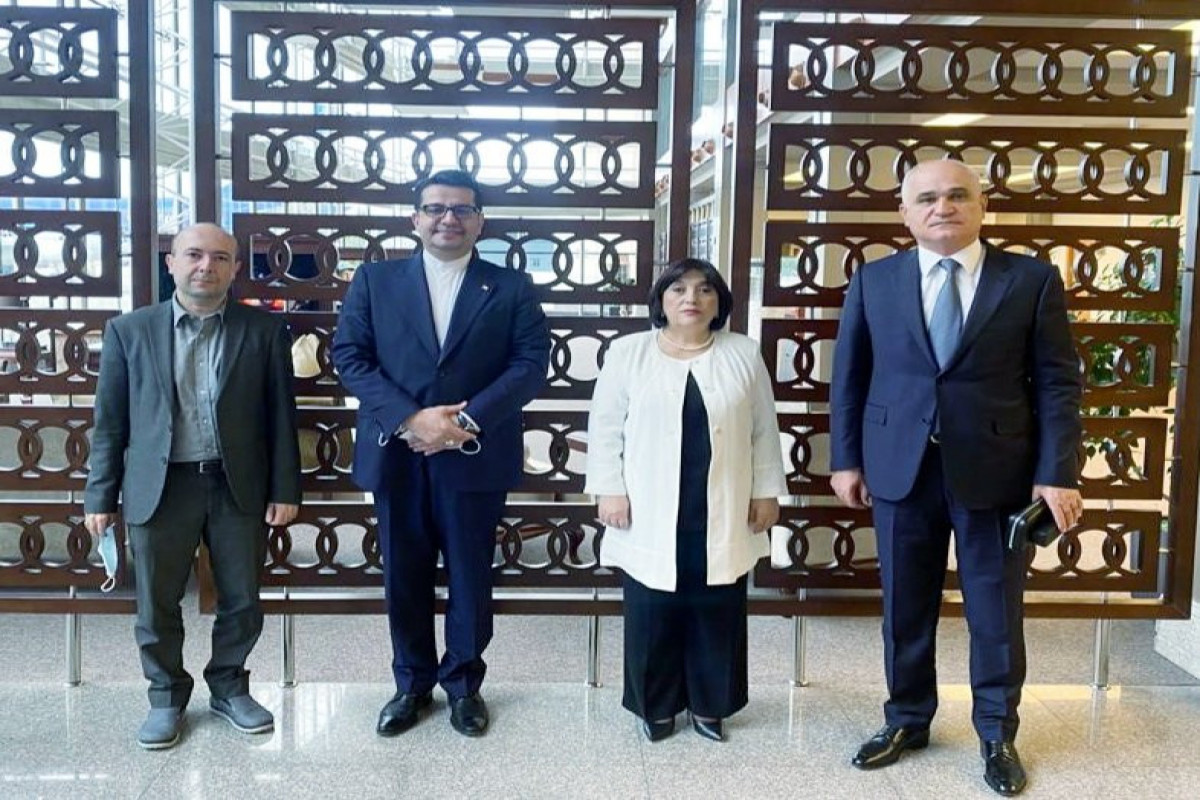 """Chair of Azerbaijani Milli Majlis visits to Iran-<span class=""""red_color"""">UPDATED"""