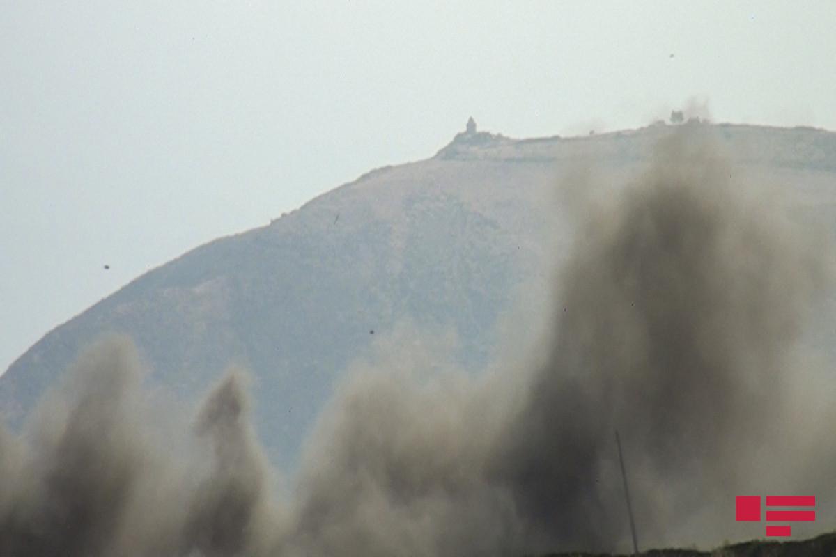 """К тушению пожара в горной местности в Агсу привлечен вертолет-<span class=""""red_color"""">ОБНОВЛЕНО"""