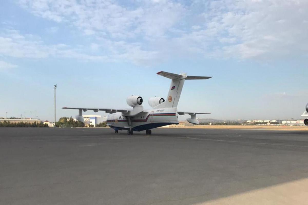 Пожарный самолет-амфибия МЧС прибыл в Турцию