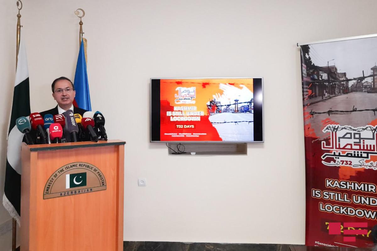 "Pakistani Ambassador: ""Azerbaijan has been far from double standards in Kashmir issue"""