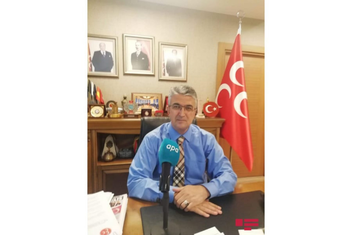 """MHP MP: """"Azerbaijan's support to Turkey in these difficult days makes our national unity more unbreakable"""""""