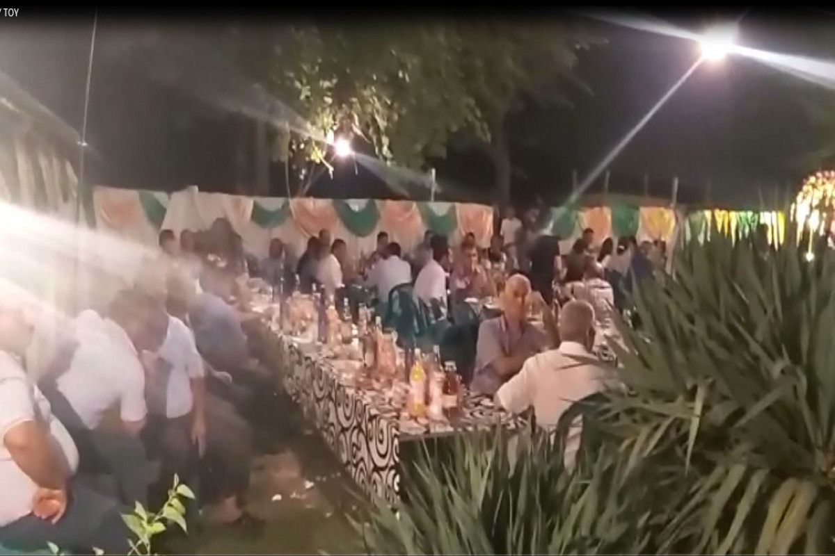 В Гёйчае оштрафованы организаторы свадеб