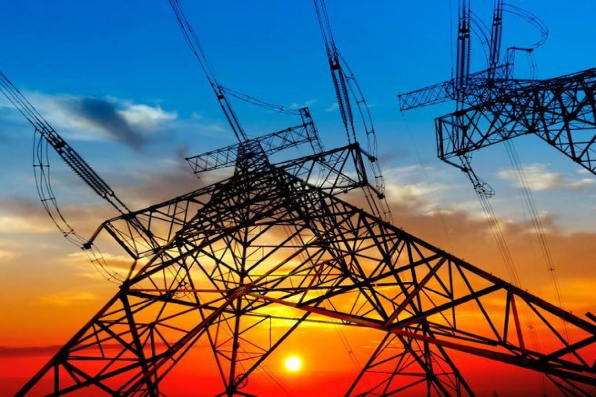 Azərbaycanda elektrik enerjisinin nəqli üzrə gəlirlər 8% artıb