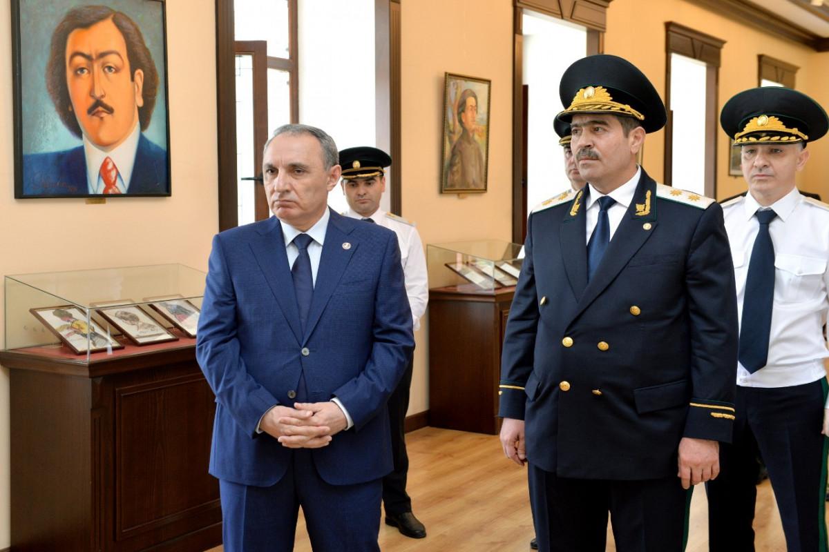 """Baş prokuror Kamran Əliyev Naxçıvana səfər edib - <span class=""""red_color"""">FOTO"""