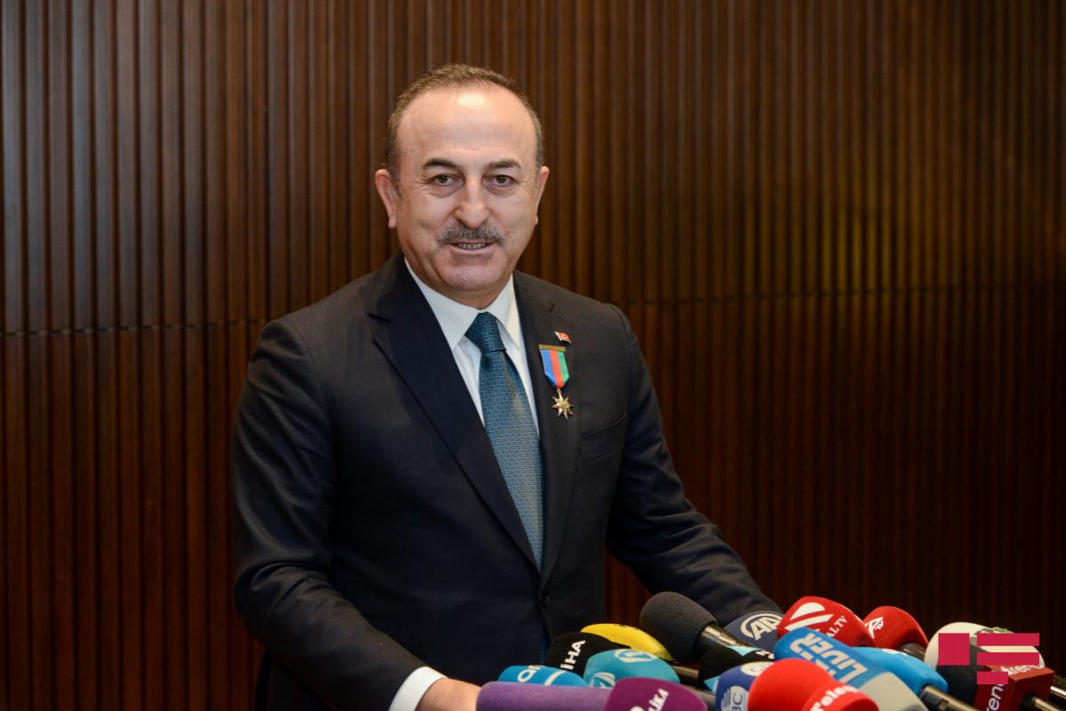 Мевлют Чавушоглу: Ежедневно с нами связываются из Азербайджана и интересуются обстановкой