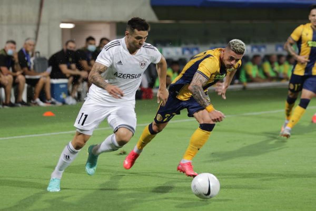 """<span class=""""red_color"""">Лига конференций: «Карабах» сыграл вничью с кипрским АЕЛ"""