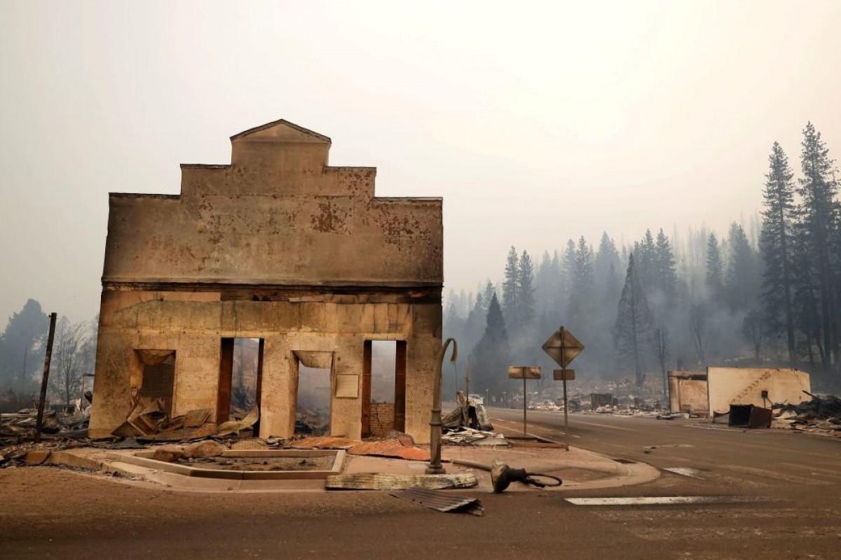 Пожар в Калифорнии уничтожил город со 150-летней историей
