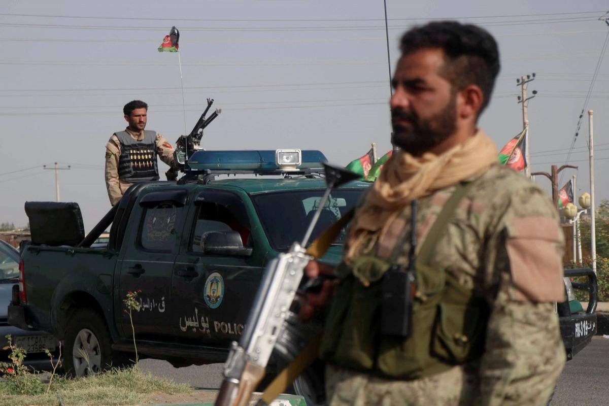 Taliban target provincial Afghan cities in response to U.S. strikes, commanders say