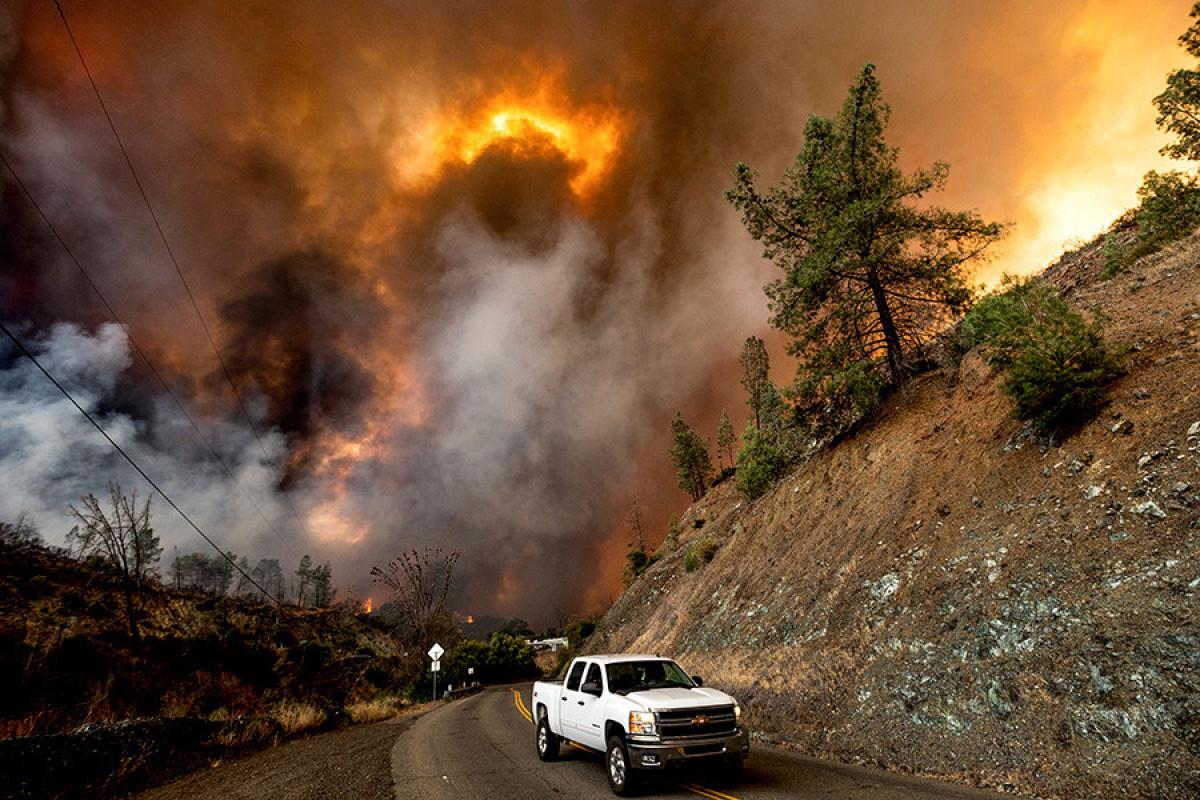 Kaliforniyada meşə yanğınlarına görə 16 min nəfər təxliyə olunub