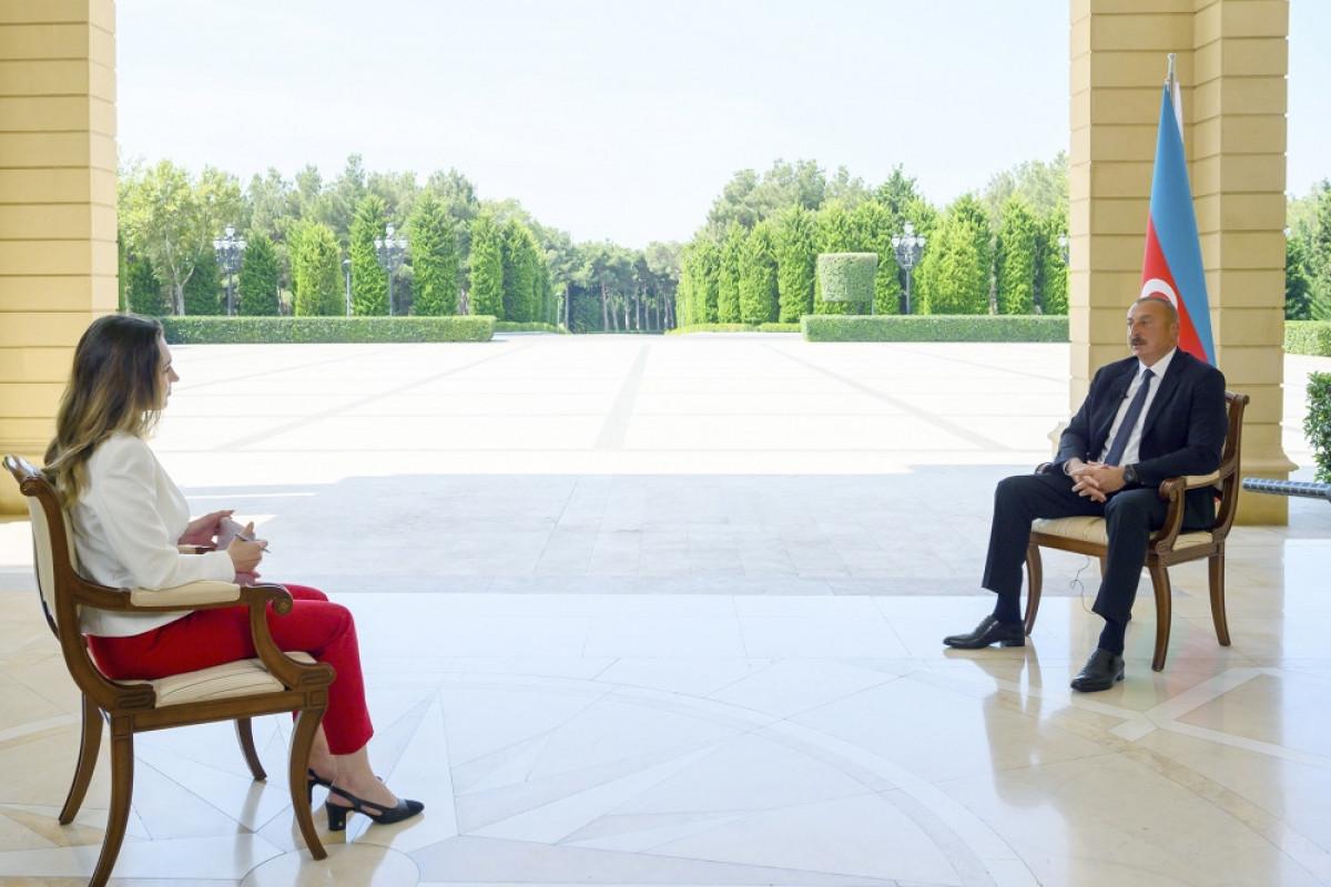 President Ilham Aliyev was interviewed by CNN Turk TV channel-FULL TEXT