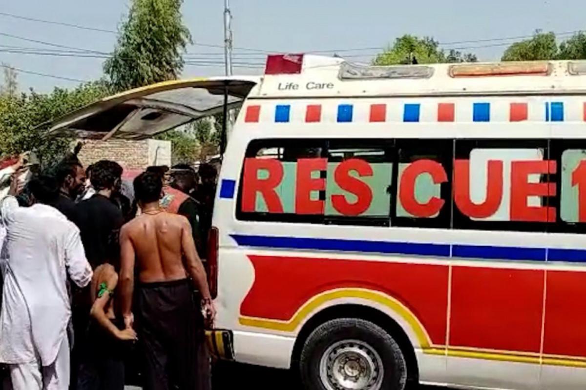 Pakistanda Aşura mərasimində partlayış olub, ölənlər və yaralananlar var