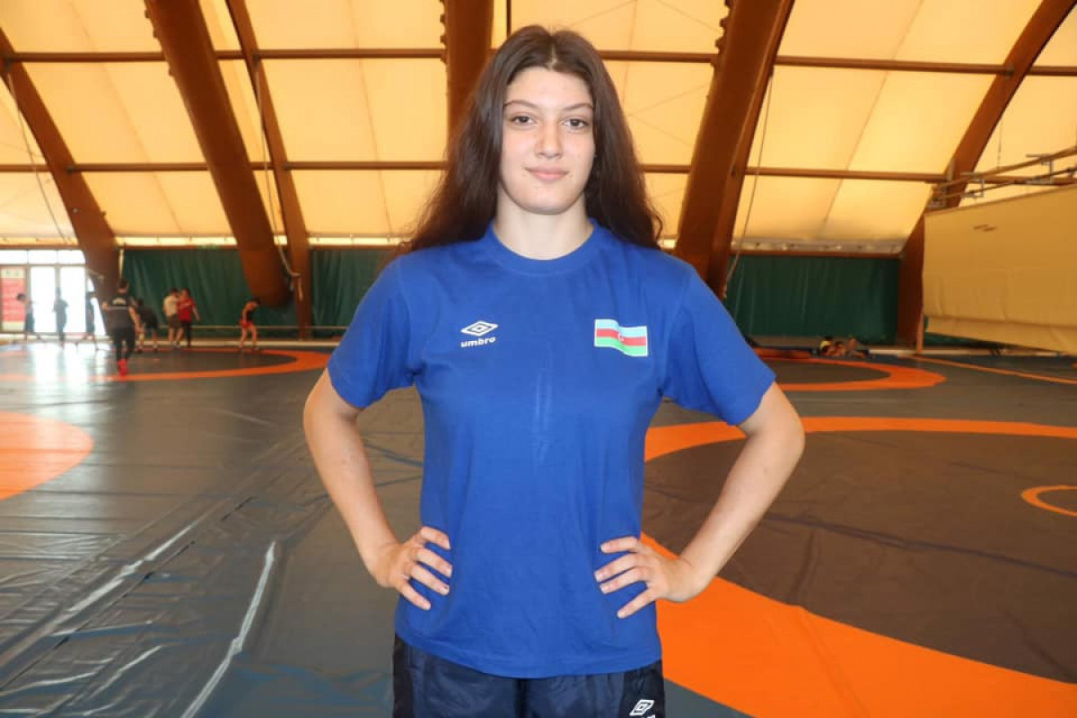 Азербайджанский борец стала бронзовым призером чемпионата мира