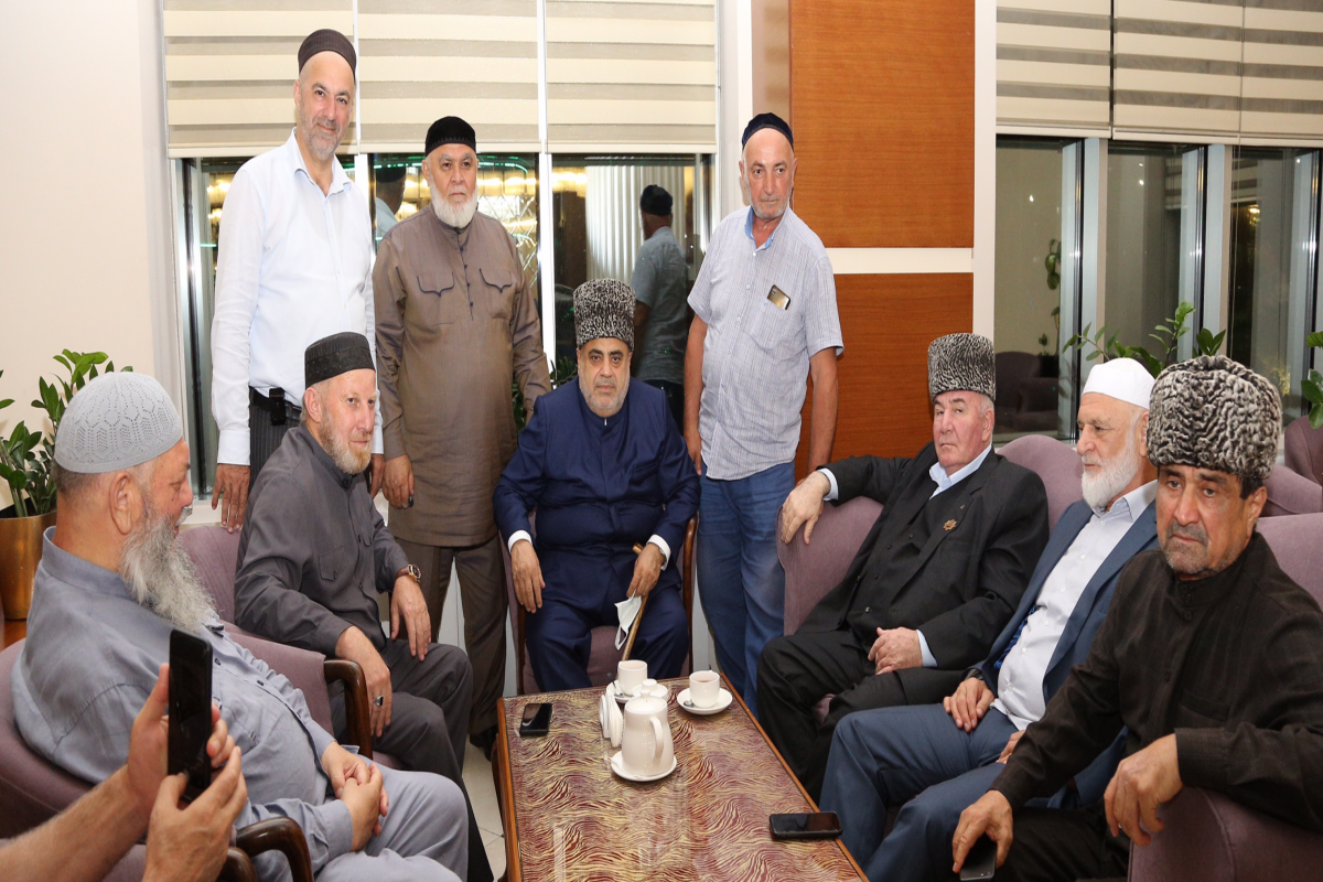 Chairman of CMO is on a visit to Chechnya