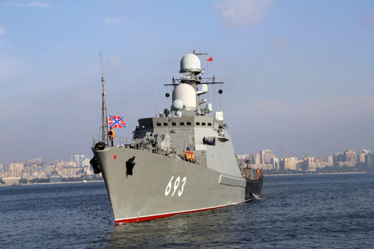 Rusiyanın Xəzər donanması Həştərxandan Dağıstana köçürülüb