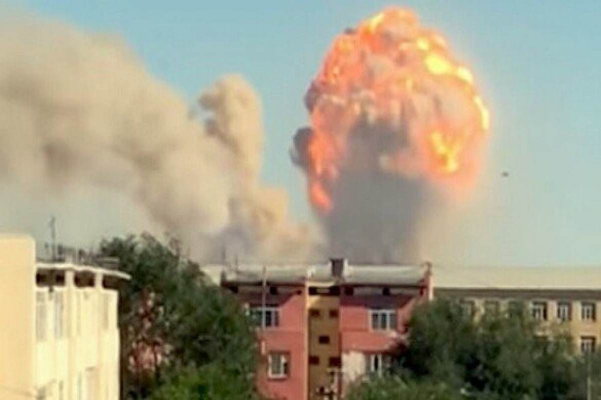 Over 30 people injured in explosion in North Kazakhstan