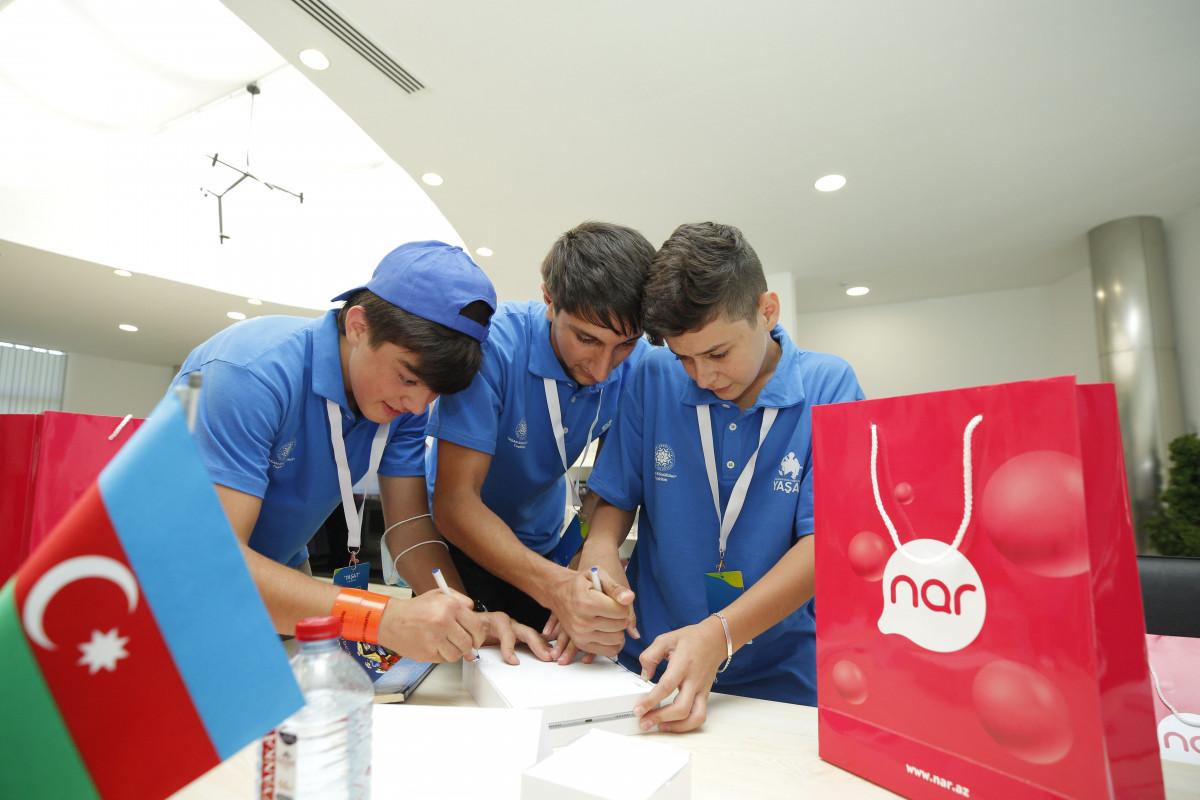 Nar поддержал лагерь YAŞAT созданный для детей шехидов