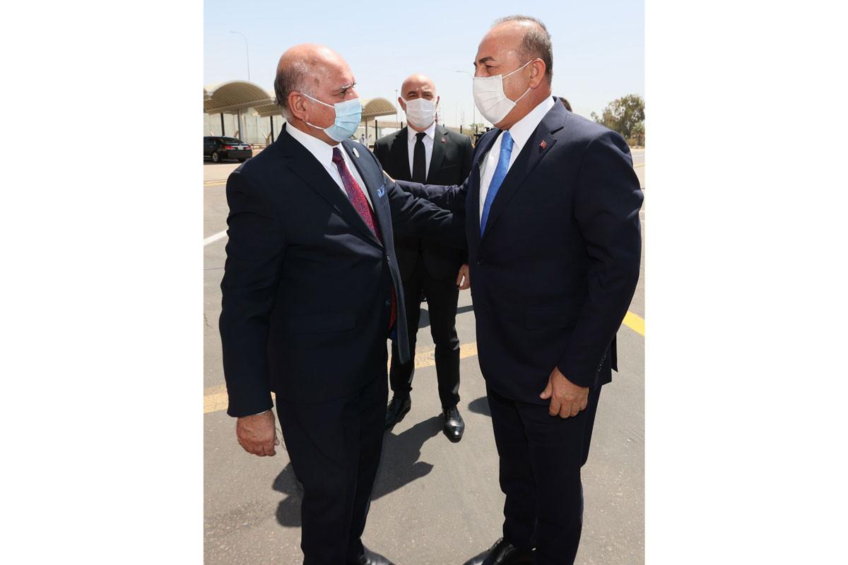 Mövlud Çavuşoğlu iraqlı həmkarı ilə görüşüb
