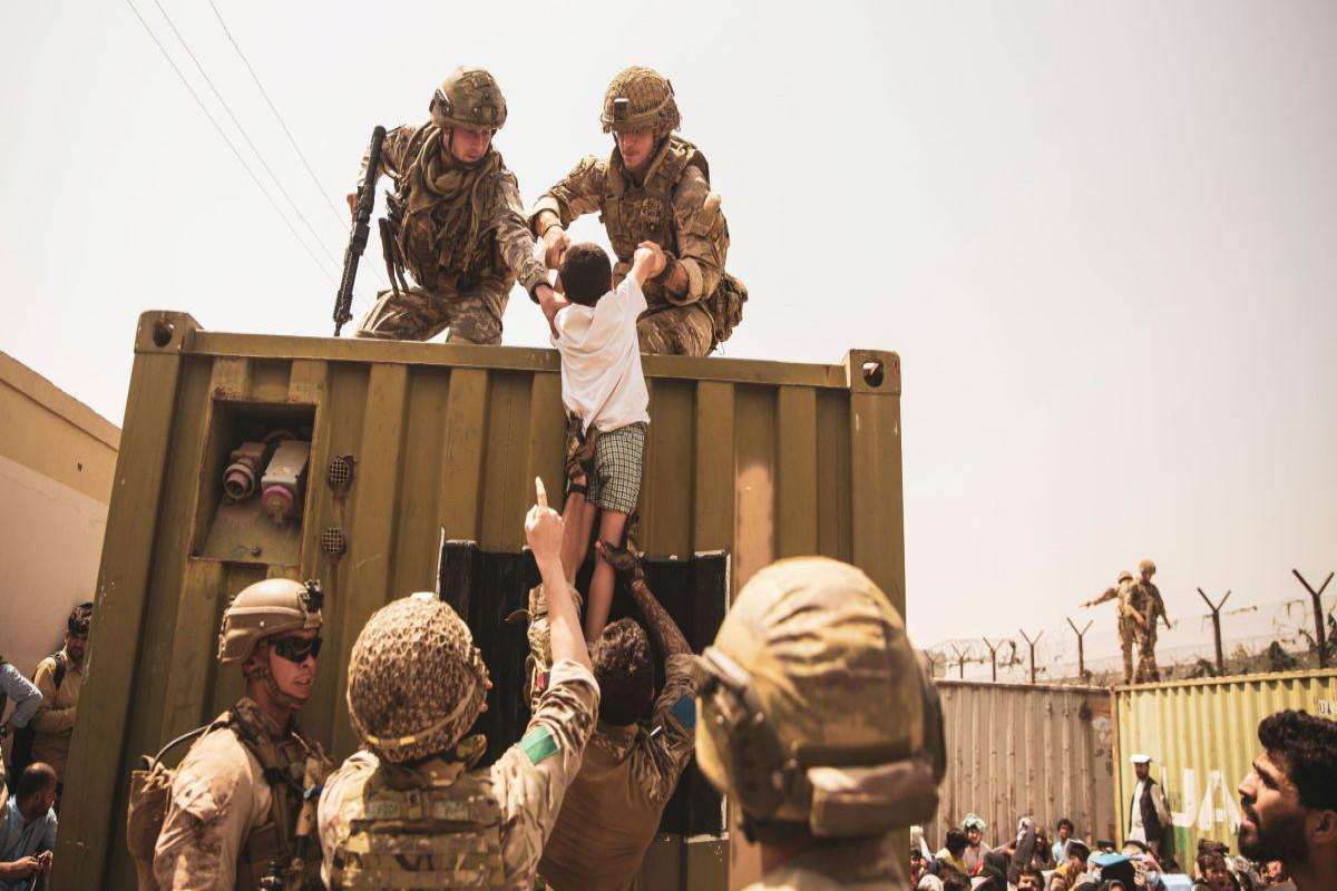 Kabul hava limanında 4000-dək ABŞ hərbçisi yerləşdirilib