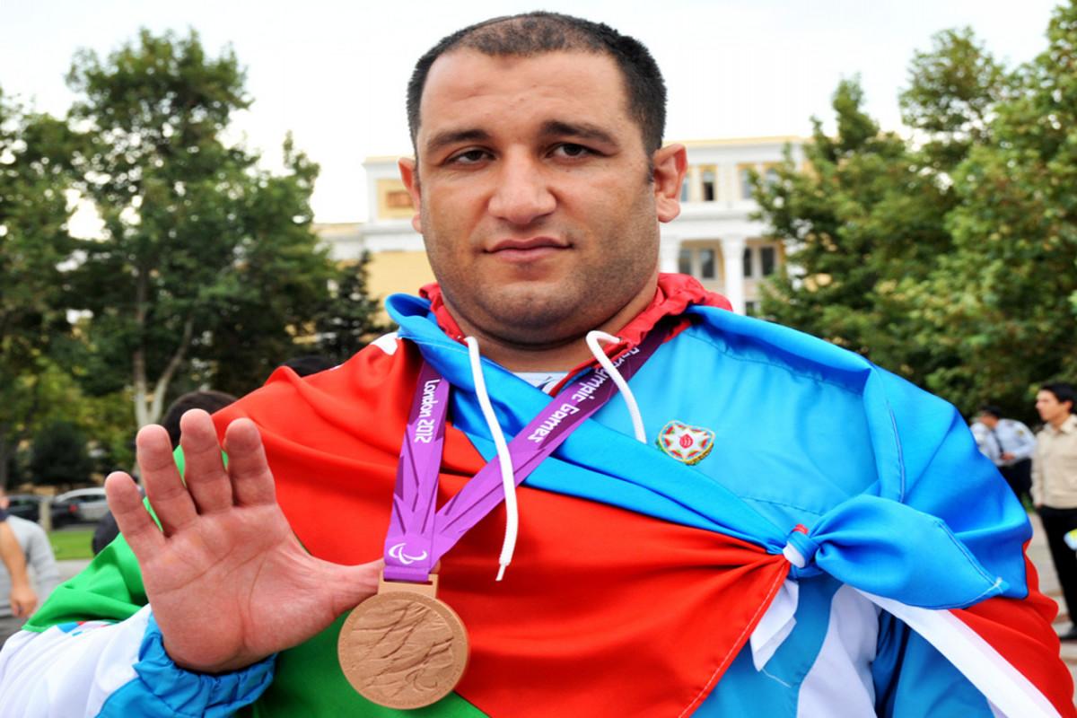 Tokio-2020: İlham Zəkiyev Paralimpiadada 4-cü medalını qazanıb