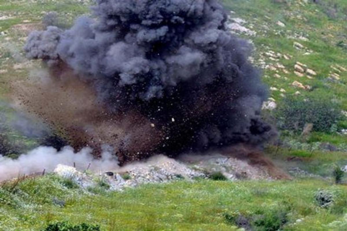 Resident of Dashkasan hit mine on the border with Armenia